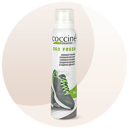dezodorant Coccine do sportowych butów