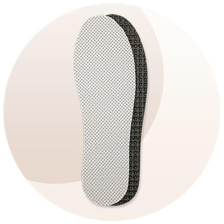 Coccine Sport-Ultra wkładki latex węgiel